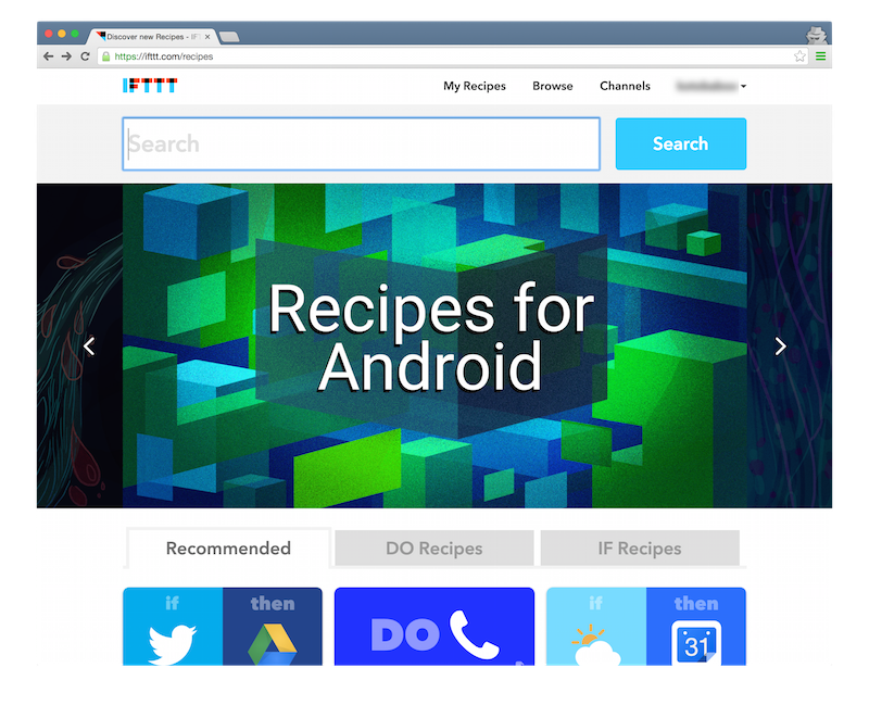 ifttt-recipe-select