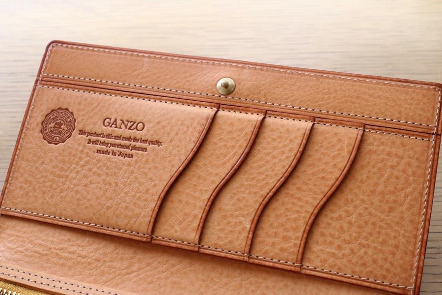 separation shoes 744e0 c12c9 レビュー】GANZOのシンブライドル コンパクト長財布を購入。国内 ...