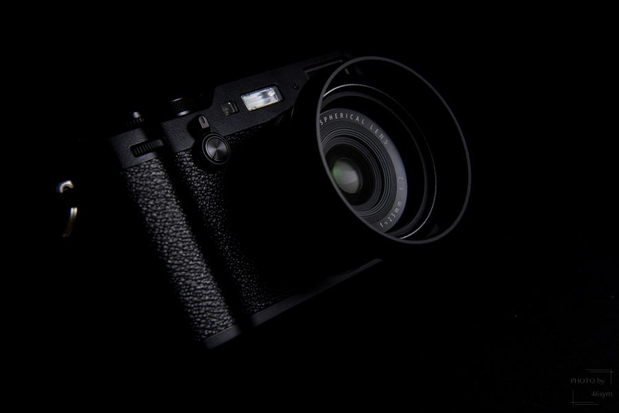 【外観レビュー】FUJIFILM X100F ブラック 所有欲を満足させる、最高品質の高級コンデジ。