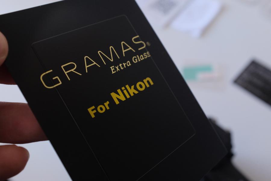 【レビュー】D850の液晶保護ガラスにGRAMAS Extra Glass for Nikonを購入したよ!